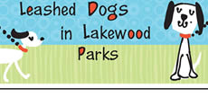 Leashed Dogs in Lakewood Parks