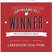 Lakewood Dog Park is a WINNER!