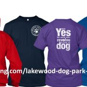 2016 Lakewood Dog Park Shirts AVAILABLE NOW!