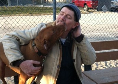 Bob loves dogs